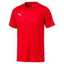 puma spilletrøje liga core - rød børn - fodboldtrøjer