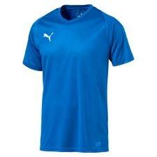 puma spilletrøje liga core - blå børn - fodboldtrøjer