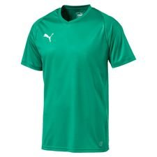 puma playershirt liga core - pepper green kids - football shirts