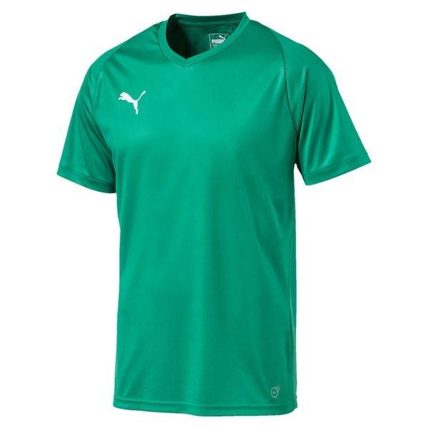 puma spilletrøje liga core - grøn børn - fodboldtrøjer