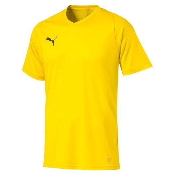 puma spilletrøje liga core - gul børn - fodboldtrøjer