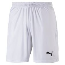 puma shorts liga core - white/black - shorts
