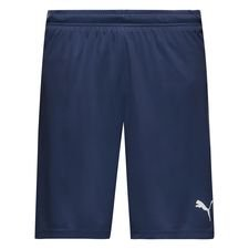 puma shorts liga core - navy - træningsshorts