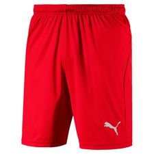 puma shorts liga core - red kids - shorts