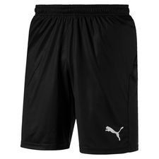 puma shorts liga core - black kids - shorts