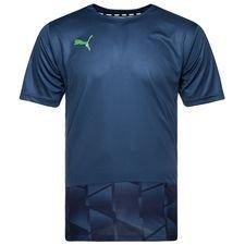 puma trænings t-shirt ftblnxt graphic - blå - træningstrøjer