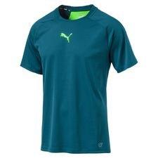 puma trænings t-shirt ftbltrg pwrcool frenzy pack - blå/grøn - t-shirts
