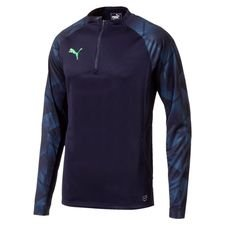 puma training shirt ftblnxt 1/4 zip - navy - training tops