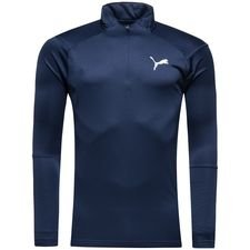 puma training shirt liga 1/4 zip - peacoat - training tops
