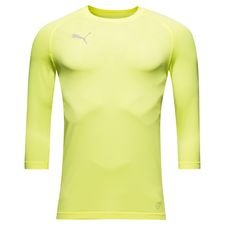 puma baselayer ftblnxt 3/4 - fizzy yellow - baselayer