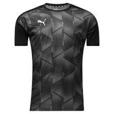 puma trænings t-shirt ftblnxt graphic - sort - træningstrøjer