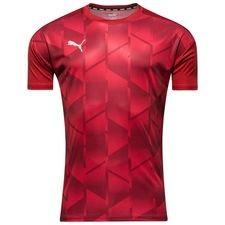 puma training t-shirt ftblnxt graphic - red - training tops