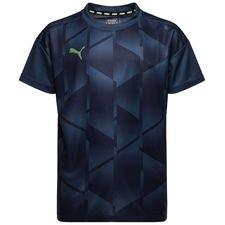 puma training t-shirt ftblnxt graphic - blue kids - training tops