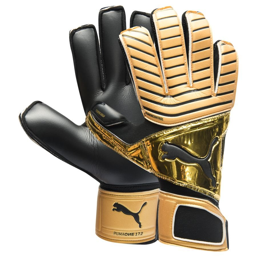 d5541808a PUMA Goalkeeper Gloves One Grip 17.2 RC - Gold | 041325_22 | FOOTY.COM