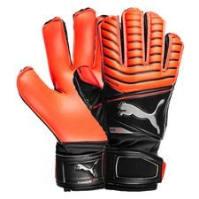 puma goalkeeper gloves one protect 18.3 - red/black kids - goalkeeper gloves