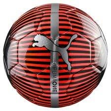 PUMA Fotboll One Chrome - Röd/Svart