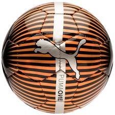 puma fodbold one chrome mini - rød/sort - fodbolde