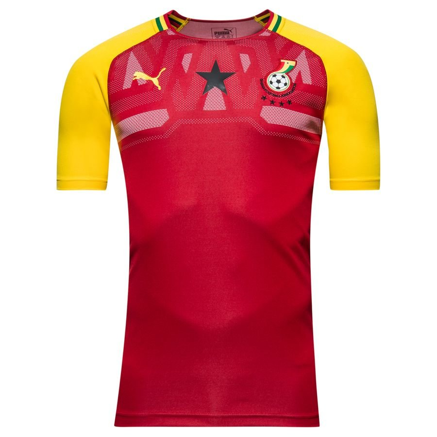 Ghana Hjemmebanetrøje 2018/19 Africa Cup of Nations 19