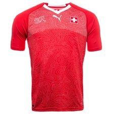 Schweiz hjemmebanetrøje 2017/18. ? Fremstillet med Puma dryCELL teknologi Puma dryCELL er et åndbart, hurtigtørrende letvægts materiale, der led