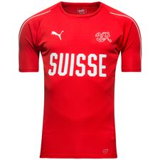 switzerland training t-shirt - red - training tops