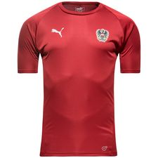austria training t-shirt - red - training tops