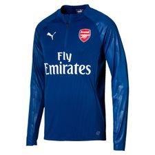 Arsenal Träningströja 1/4 Blixtlås - Blå