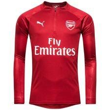 Arsenal Träningströja 1/4 Blixtlås - Röd