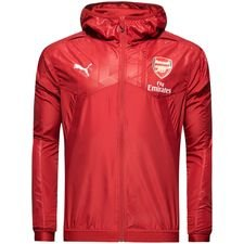 arsenal trainingsjacke thermo-r vent - rot - trainingsjacken