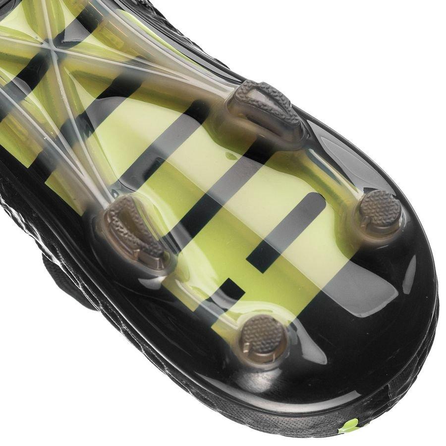 8d75927068275d puma future 18.1 netfit fg ag - black yellow limited edition - football  boots
