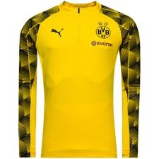 dortmund training shirt 1/4 zip - yellow - training tops