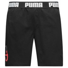 Lækre shorts fra PUMAs nye 365 lifestyle kollektion. Shortsene er fremstillet med PUMAs dryCELL teknologi, som er et åndbart, hurtigtørrende letvægts materia