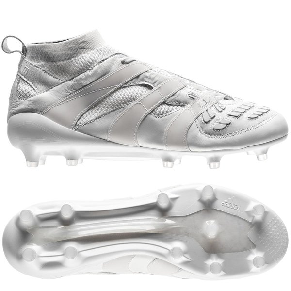 half off ac2cc 1686b adidas predator accelerator fgag beckham collection - hvit limited edition  - fotballsko ...