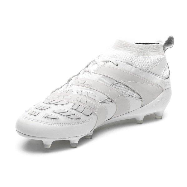 detailed look 38c5a 85221 ... adidas predator accelerator fgag beckham collection - hvit limited  edition - fotballsko ...