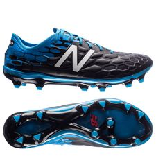 new balance visaro 2.0 pro fg - black/bolt blue - football boots