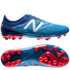 new balance furon 3.0 pro ag - blå/rød - fodboldstøvler