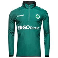 greuther fürth windbreaker - green/white kids - windbreaker
