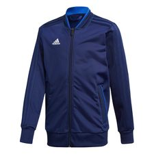 adidas training jacket condivo 18 - dark blue/white kids - training jackets