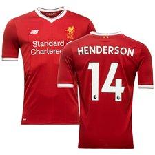 Liverpool Hemmatröja 2017/18 HENDERSON 14 Barn