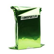Gavepose med Unisportlogo Gaveposen passer perfekt til skotøjsæsker, fodbolde, trøjer, bukser, målmandshandsker, m.m. Gaveposen bliver vedlagt din ordre og s