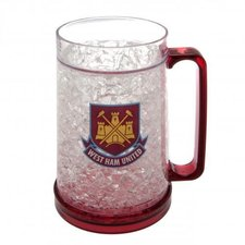 west ham united krus plastik - rød - merchandise