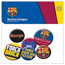 barcelona badge set - merchandise