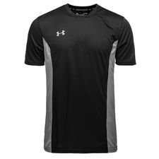 under armour challenger ii training t-shirt - black/grey - t-shirts