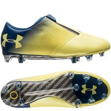 Under Armour Spotlight Pro FG - Geel/Blauw