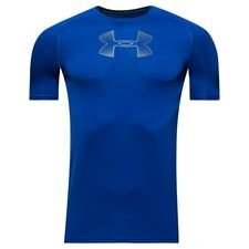 under armour compression heatgear armour k/æ - blå børn - baselayer
