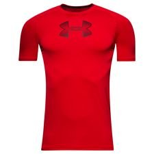 under armour compression heatgear armour k/æ - rød børn - baselayer