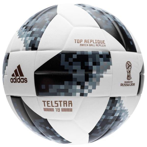 adidas ballon coupe du monde 2018 telstar 18 top replique blanc noir argent www. Black Bedroom Furniture Sets. Home Design Ideas
