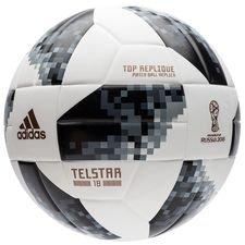 adidas Fotboll VM 2018 Telstar 18 Top Replique - Vit/Svart/Silver
