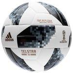 adidas Fodbold VM 2018 Telstar 18 Top Replique - Hvid/Sort/Sølv