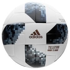 adidas Football World Cup 2018 Telstar 18 Top Replique - White/Black/Silver Metallic