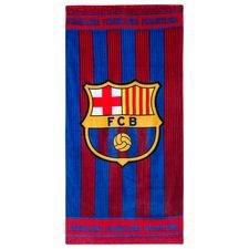 Barcelona Handduk Logo - Röd/Blå